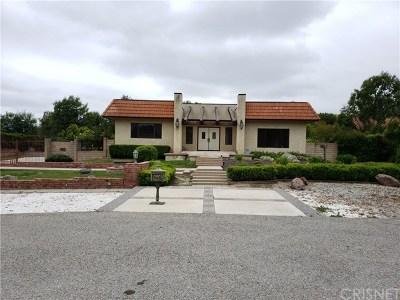 Agoura Hills Single Family Home For Sale: 5555 Lewis Lane