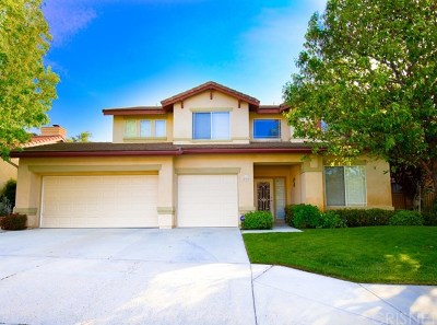 Saugus Single Family Home For Sale: 25315 Heather Vale Street