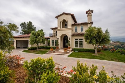 Newhall Single Family Home For Sale: 24116 Wildwood Canyon Road