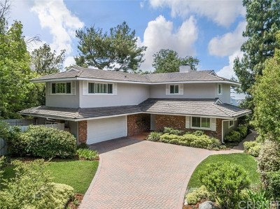 La Canada Flintridge Single Family Home For Sale: 5702 Evening Canyon Drive