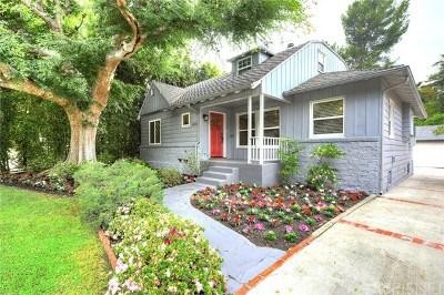 Single Family Home For Sale: 4051 Beverly Glen Boulevard