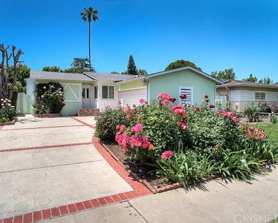 Sherman Oaks Single Family Home For Sale: 5743 Natick Avenue