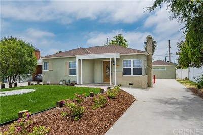 North Hollywood Single Family Home For Sale: 11504 Erwin Street