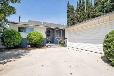 Lake Balboa Single Family Home For Sale: 17227 Elkwood Street