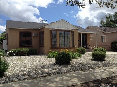 Lake Balboa Single Family Home For Sale: 17646 Haynes Street
