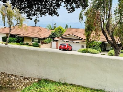 Pasadena Single Family Home For Sale: 3805 Ranch Top Road