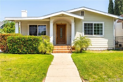 Glendale Single Family Home For Sale: 807 E Elk Avenue