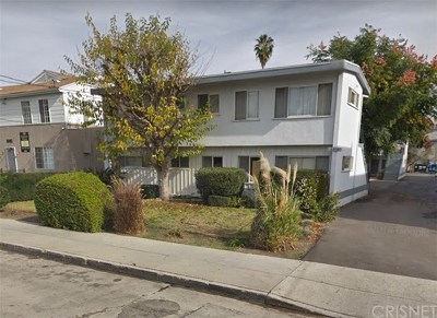 North Hollywood Multi Family Home For Sale: 5110 Bakman Avenue