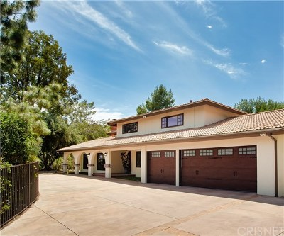 Brentwood, Calabasas, West Hills, Woodland Hills Single Family Home For Sale: 20254 Wells Drive