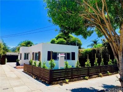 Santa Barbara Single Family Home For Sale: 717 W Micheltorena Street