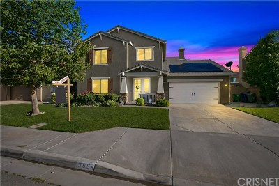 Lancaster Single Family Home For Sale: 3654 Neola Way