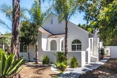 Sherman Oaks Single Family Home For Sale: 5536 Hazeltine Avenue