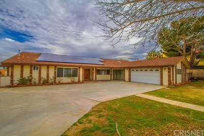 Lancaster Single Family Home For Sale: 42026 Silver Puffs Drive