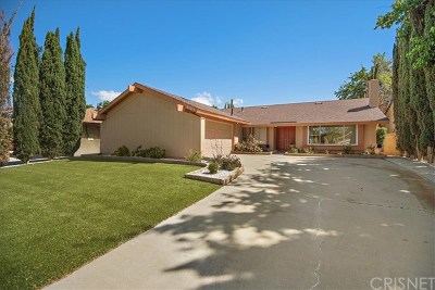 Lancaster Single Family Home For Sale: 43070 Larwood Street