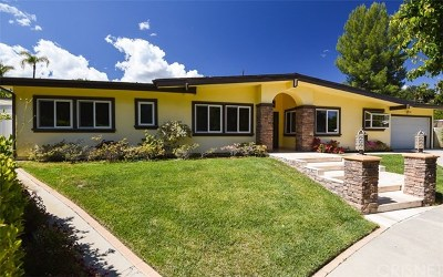 Woodland Hills Single Family Home For Sale: 4400 Brookford Avenue