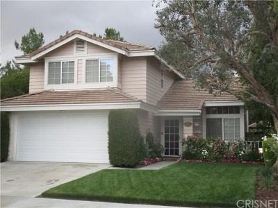 Valencia Single Family Home For Sale: 23375 Preston Way