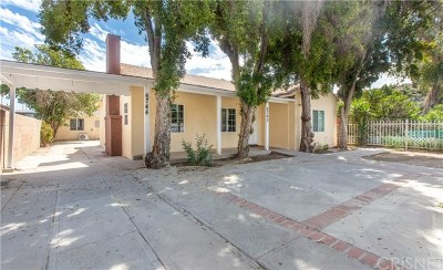 Los Angeles County Multi Family Home For Sale: 6742 Sylmar Avenue