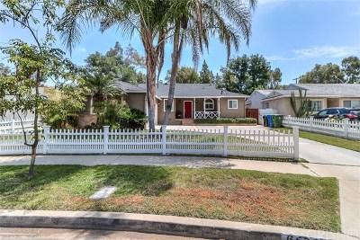 Reseda Single Family Home For Sale: 6532 Baird Avenue