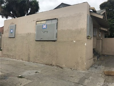 Los Angeles Single Family Home Pending: 1223 W Florence Avenue