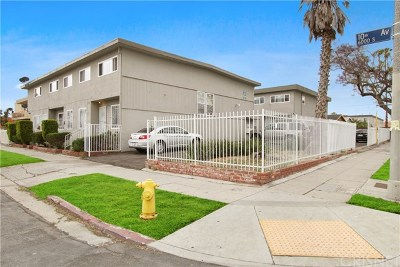 Los Angeles Commercial For Sale: 3206 W 60th Street