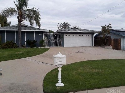 Bakersfield Single Family Home For Sale: 3209 Sterling Road
