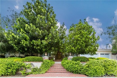 Brentwood, Calabasas, West Hills, Woodland Hills Single Family Home For Sale: 4940 Bascule Avenue