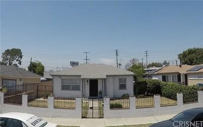 Sun Valley Single Family Home For Sale: 8557 Cayuga Avenue