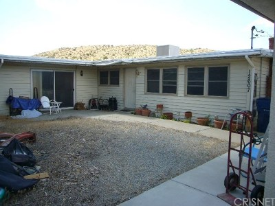 Pearblossom Single Family Home For Sale: 12607 Le Page Ranch Road