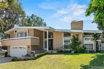 Calabasas Single Family Home For Sale: 4133 Pulido Court