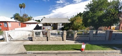 El Monte Single Family Home For Sale: 2656 Washington Avenue