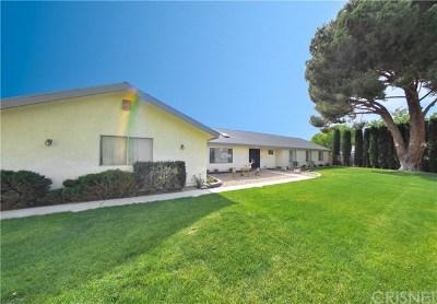 Quartz Hill Single Family Home For Sale: 42425 47th Street W