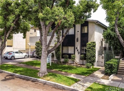 Burbank Multi Family Home For Sale: 440 E San Jose Avenue