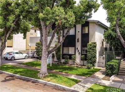 Burbank Multi Family Home For Sale: 440 E San Jose Avenue