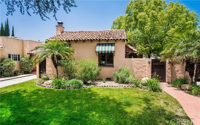 North Hollywood Single Family Home For Sale: 4943 Cartwright Avenue