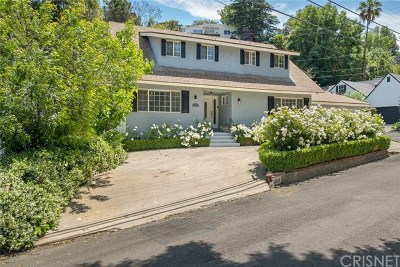 Sherman Oaks Single Family Home For Sale: 3930 Ventura Canyon Avenue