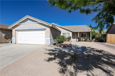 Rosamond Single Family Home For Sale: 2165 Kenyon Court