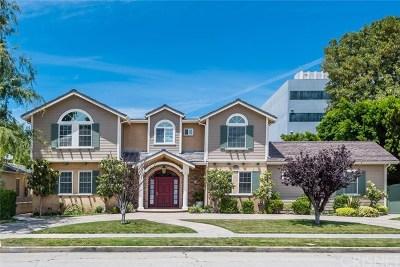 Sherman Oaks Single Family Home For Sale: 15459 Dickens Street