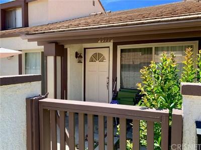 Valencia Condo/Townhouse For Sale: 25772 Vista Fairways Drive
