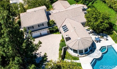 Hidden Hills Single Family Home For Sale: 24907 Kit Carson Road