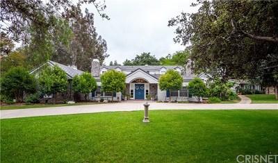 Hidden Hills Single Family Home For Sale: 24854 Jim Bridger Road