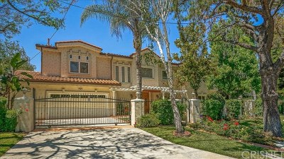 Sherman Oaks Single Family Home For Sale: 14659 Valley Vista Boulevard