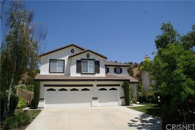 Castaic Single Family Home For Sale: 30560 Appalachian Drive