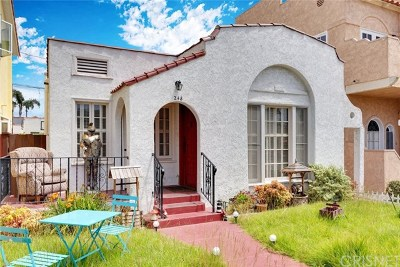 Long Beach Single Family Home For Sale: 248 Corona Avenue