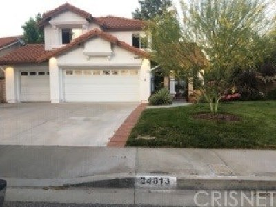 Stevenson Ranch Single Family Home For Sale: 24813 Sagecrest Circle