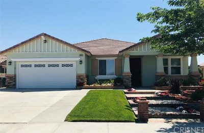 Palmdale Single Family Home For Sale: 38054 37th Street E