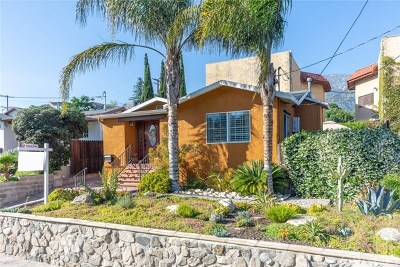 Glendale Single Family Home For Sale: 3647 1st Avenue