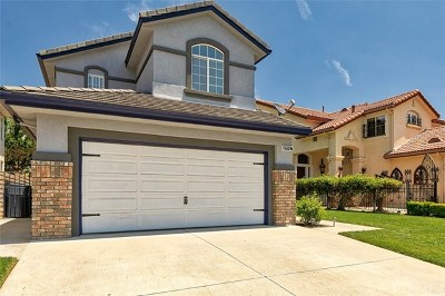Saugus Single Family Home For Sale: 19917 Franks Way