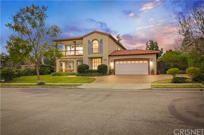Porter Ranch Single Family Home For Sale: 10341 Edgebrook Way