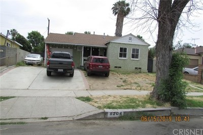 Panorama City Single Family Home For Sale: 8204 Burnet Avenue