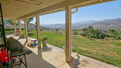 Acton Single Family Home For Sale: 32120 Quirk Road